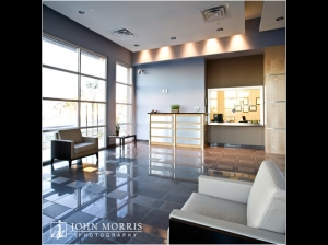 Commercial, Architectural photo shoot for a large office space in San Diego.