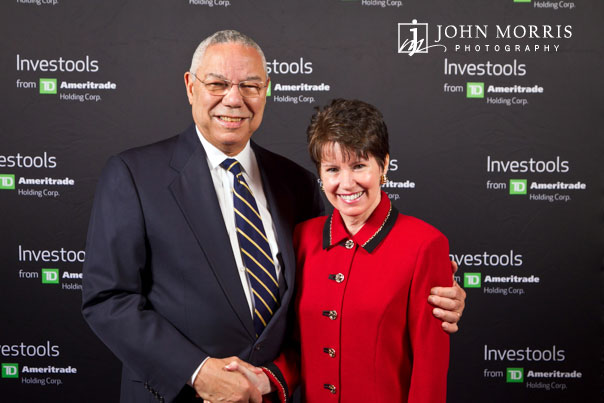 Meet & Greet with conference attendee and General Colin Powell