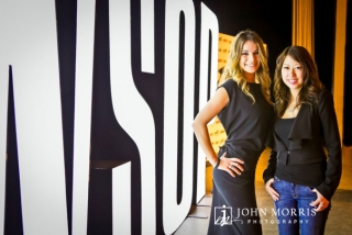 Candid portrait of women poker players Tatjana Pasalic and Jay Tan at the World Series of Poker in Las Vegas