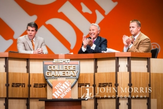 College Game Day set during a corporate event