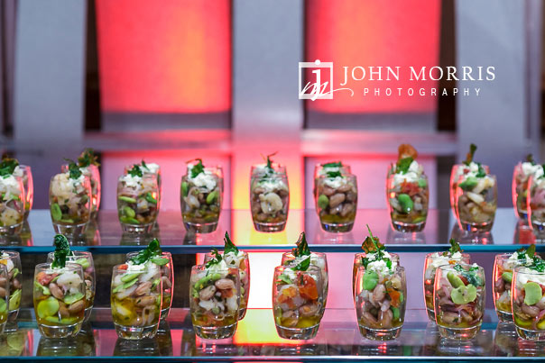 Capturing images of the food being served at a Corporate Event and Networking hour at the Mandalay Bay Convention Center in Las Vegas