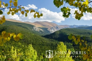 View of Mount Evans in the Rocky Mountain National Park