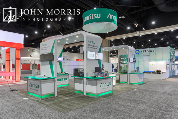 Professional Booth and Exhibit Photography at the San Diego Convention Center