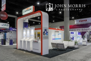 Lightron Professional Booth and Exhibit Photography at the San Diego Convention Center