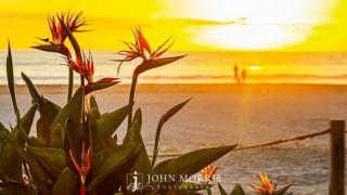 Sunset Coronado Beach