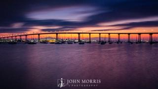Coronado Bay Bridge Sunrise