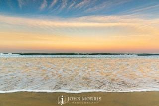 Beach, Sand, Sky at Sunrise