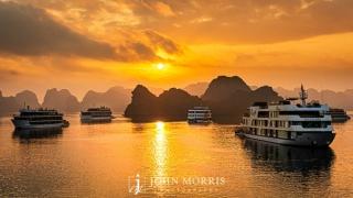 Hanoi Bay Vietnam Sunrise